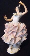 "SANDIZELL Dresden ""Spanish Dancer with Castanets"" PORCELAIN  FIGURINE"