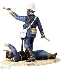 Britains 27021 Close Call British Naval Brigade Officer Defending Wounded