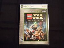 Replacement Case (NO GAME) LEGO STAR WARS THE COMPLETE SAGA XBOX 360