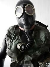 BLACK  GAS MASK IP-5 SOVIET WITH FILTER OXYGEN GENERATOR UNIQUE