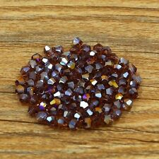 300pcs Swarovski 5301# 4mm Bicone crystal beads color&quantity optional