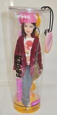 NRFB BARBIE ~ MATTEL FASHION FEVER BRUNETTE TERESA PINK HAT JACKET DOLL MIB NRFP