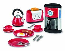Toy Kitchen Appliances Play Set Kids Pretend Play Toaster Coffee Maker Kettle