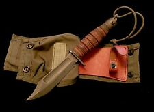 MINT PROTOTYPE-  Jet Pilot S.E.A.L. Survival Aircrew Knife w/ Sheath