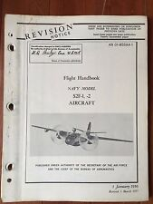 Flight Handbook for Navy Model S2F-1, -2 March 1957