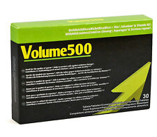 VOLUME500 New formula to enhance sperm quantity and potency Better quality Wow