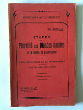 ETUDES PLURALITE MONDES HABITES DOGME INCARNATION VOL 1 1909 ORTOLAN