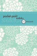 Pocket Posh Sudoku 18 : 100 Puzzles by Puzzle Society Staff (2013, Paperback)