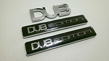 Dub Edition 3 badge Set VW Volkswagen Golf GTI GTD TDI R transporteur Beetle