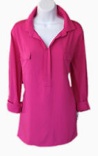 Final Sale! 70% OFF New Style & Co Berry Cool Women Blouse Top Size XL Org.$46