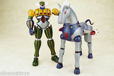 Arcadia Chogokin Kotetsu Jeeg + Pantheroid Exclusive Restyling LIMITED METALLIC