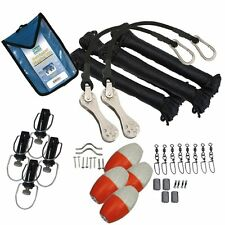 Taco RK-0002PB Marine Premium Double Rigging Kit for 2 Outriggers