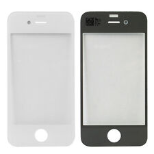 iPHONE 4 FRONT GLASS REPLACEMENT DISPLAY DISC REPAIR SET TOUCH SCREEN WHITE