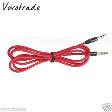 4ft. 3.5mm Aux AUXILIARY CORD Male to Male Stereo Audio Cable For iPod MP3 PC