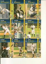 GARY SANCHEZ FC - 2011 Charleston Riverdogs Complete 36 Card SGA Set- Only Here?