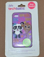 I pod touch 4 case Justice Glows in dark Purple