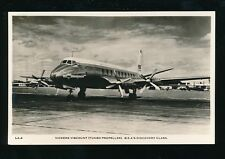 Aviation VICKERS VISCOUNT BEA's Dicovery Class c1950s RP PPC