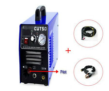Pilot arc air plasma cutter 50A 110/220V CNC  plasma cut CUT50P for USA