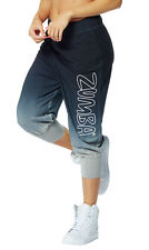 Zumba Get faded Baggy Capri Pants NWT Medium  M  NEW Hard to find Black