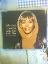 HOUSTON WHITNEY - IT'S NOT RIGHT BUT IT'S OKAY -  CD SINGLE 4 TRACKS