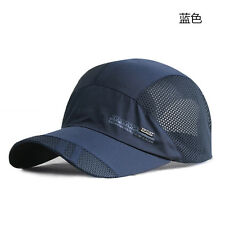 BLUE COLOR Outdoor Visor Quick-drying Cap Baseball Caps Men Women Sport Mesh Hat