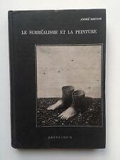 """André BRETON """" Le Surréalisme et La Peinture """" Ed. Brentano's, 1945 Surréalisme"""