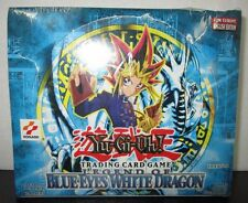 Yugioh 1st Edition English Legend of Blue Eyes White Dragon Booster Box SEALED!