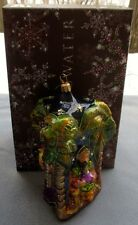 Jay Strongwater Nativity 3 Wise Men Kings Ornament Swarovski Elements New In Box