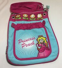 Super Mario Princess Peach 2010 School Book Bag