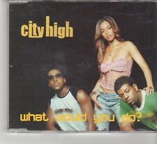 (FR574) City High, What Would You Do?  - 2001 DJ CD