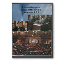 Ronald Reagan's State of the Union Adresses Four DVDs - C701-704