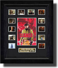 Django Unchained Montage filmcell  ,signed by quentin tarantino  fc2089d