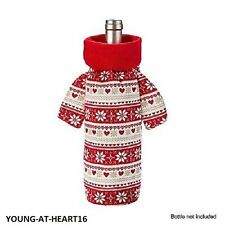 Avon noël pull bouteille couverture ~ décoration de noël/cadeau ~ bnip ~ gratuit p&p