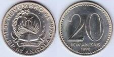 ANGOLA 20 Kwanzas Coin fine condition Big Size