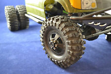 DUALLY RIM KIT FOR AXIAL RACING SCX10 HONCHO - FULLY ADJUSTABLE REAR RIMS