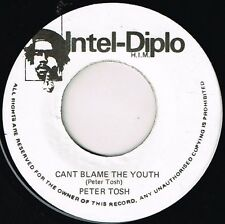 "intel diplo 7"" : PETER TOSH-can't blame the youth    (hear)   roots reggae"