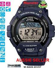 AUSSIE SELLER CASIO WATCH W-S220H-2AV WS220 W-S220H SOLAR 12-MONTH WARRANTY
