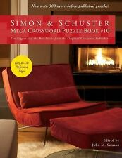Simon and Schuster Mega Crossword Puzzle Book #10 (2011, Paperback)