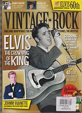 VINTAGE ROCK MAGAZINE #10 MARCH/APRIL 2014, ELVIS THE CROWNING OF THE KING.