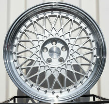 "18"" AH05 18x8.5 5x100 +35 Machined Wheels For Dodge Neon SRT4 Set Of FOUR Rims"