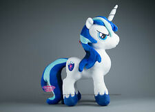 "MY LITTLE PONY SHINING ARMOR PLUSH DOLL 12 "" / 30cm UK STOCK Alta qualità Spedizione Veloce"