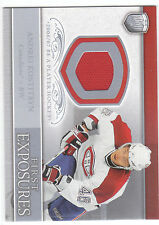 2006/7 BAP Portraits First Exposures Andrei Kostitsyn jersey card Canadiens