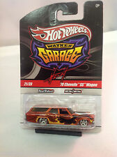 Hot Wheels Wayne's Garage 21/39 '70 Chevelle SS Wagon Real Riders Metal/Metal