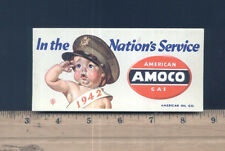 American Oil Company 1942 WWII Blotter by JC Leyendecker In the Nation's Service