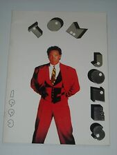 TOM JONES 1993 Australia / New Zealand Tour Program