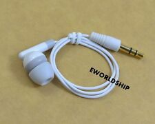 New Short Universal 3.5mm Mono Single Earphone Headset Headphone Earbud