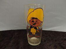 SPEEDY GONZALES - 1973 Pepsi Warner Brothers Collectors Glass