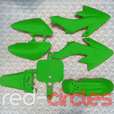 GREEN CRF50 STYLE PIT BIKE FAIRING PLASTIC SET / KIT 50cc 110cc 125cc PITBIKE