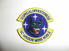 b8852 US Air Force 33rd Special Operations Squadron SOS No Mission More Noble