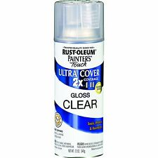 Painter's Touch 2x Ultra Cover Gloss Clear Rust Oleum 249117 Spray Paint 12 oz